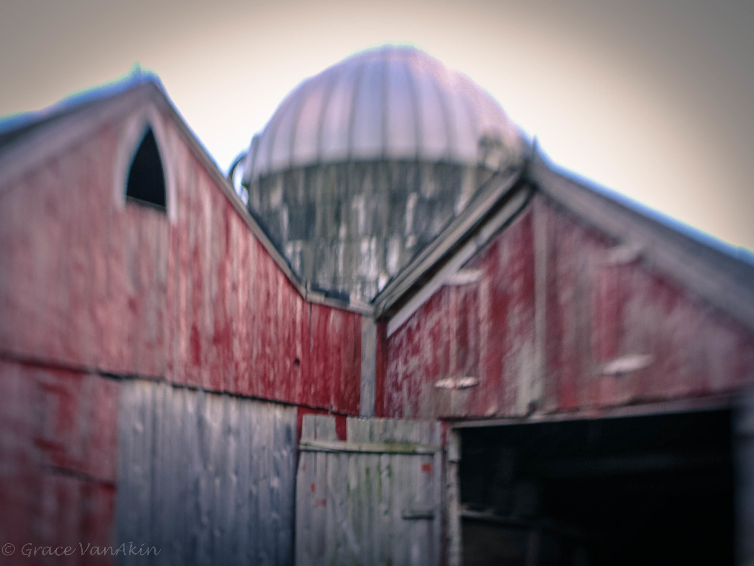 """""""I am always humbled by the infinite ingenuity of the Lord, who can make a red barn cast a blue shadow."""" - E. B. White"""