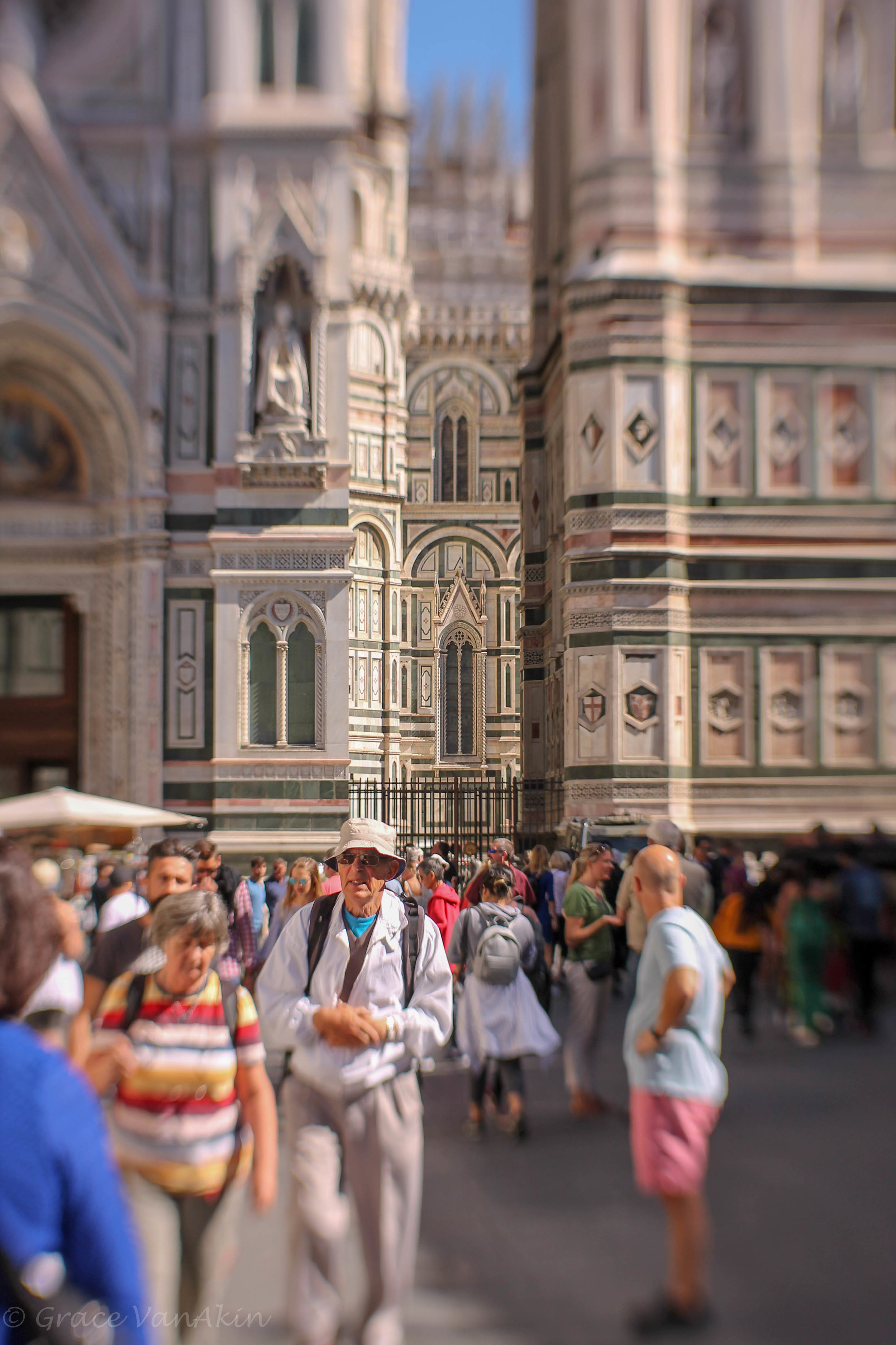 Capturing the Duomo in Florence.