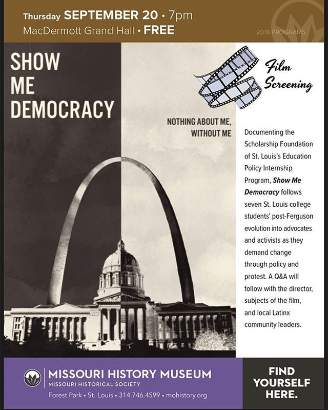 Free screening at @mohistorymuseum on Sept 20th at 7pm