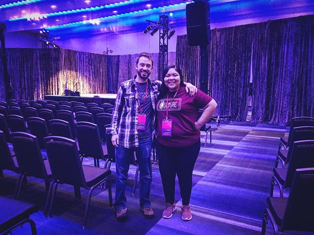 Thank you #NACA19 for the chance to share the message that college students have always been on the forefront of any social justice movement in this country. Didn't get a great pic on stage, but it was awesome to look out at hundreds of students hearing our message and message from the other great speakers. Big thanks to our agents Jayne & Kevin at Contemporary Issues Agency (Booth 518) for helping bring this film and message to students.