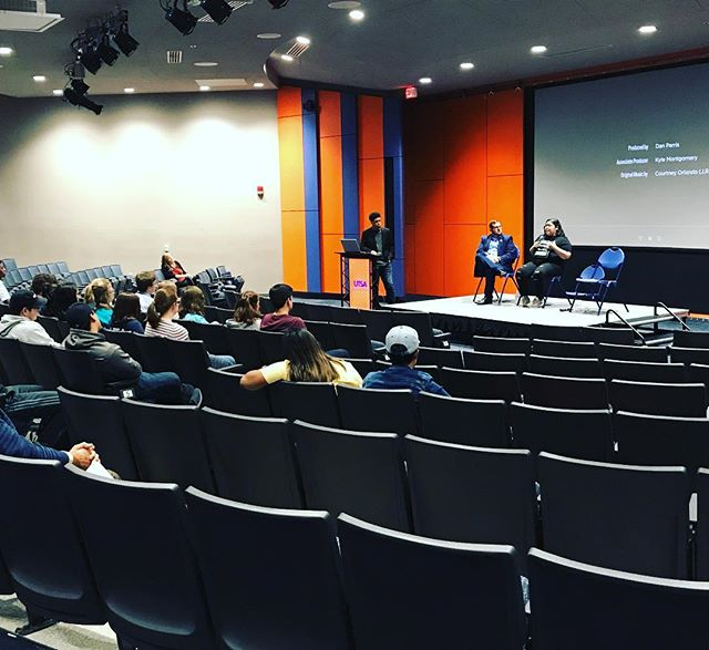 Thankful for the opportunity to share the film and talk with college students about making an impact through advocacy and activism at @utsa with @_kayfresh, Drew from @move_texas and Jaylen from Sustainable Youth in Action. Big thanks to Kristi Meyer for setting everything up.