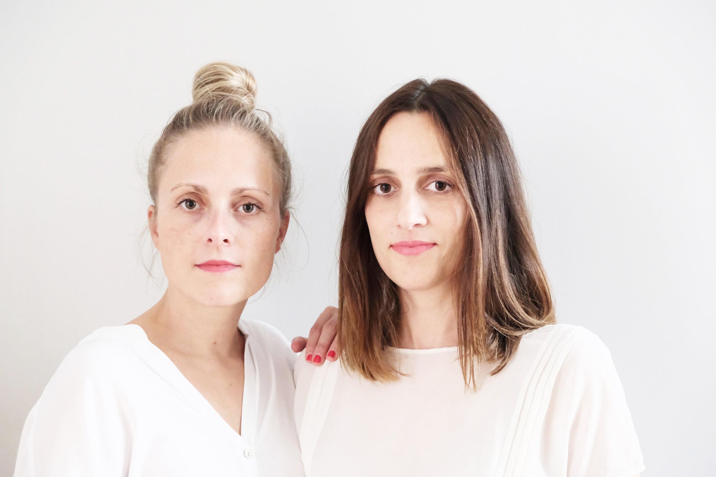 Valerie Uhrlau und Verena von Pufendorf I photo: Anna Duque y González