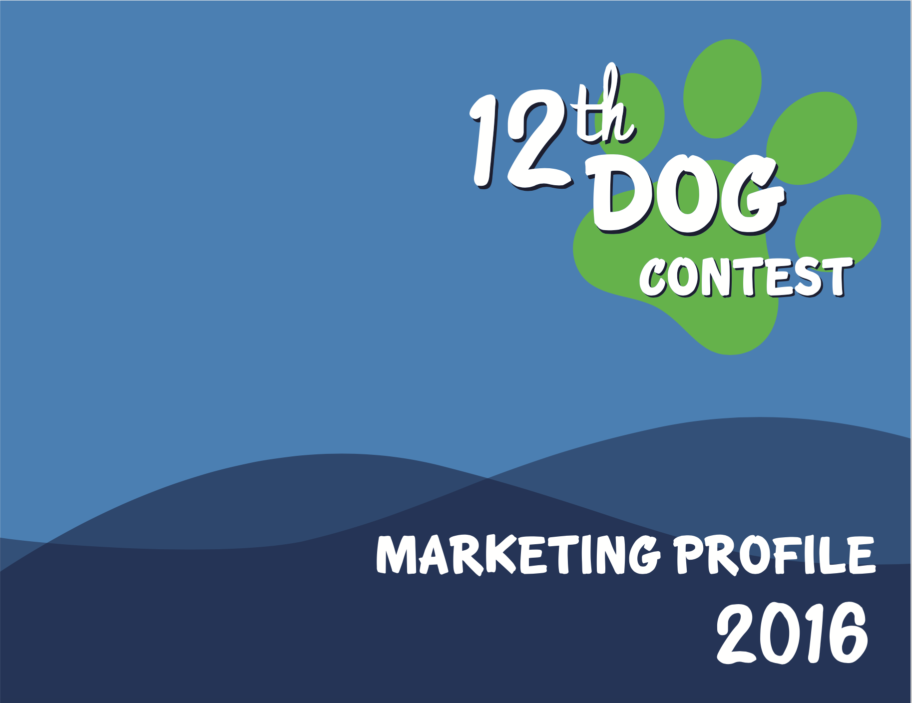 CLICK    to scroll through 12th Dog Contest Marketing Profile