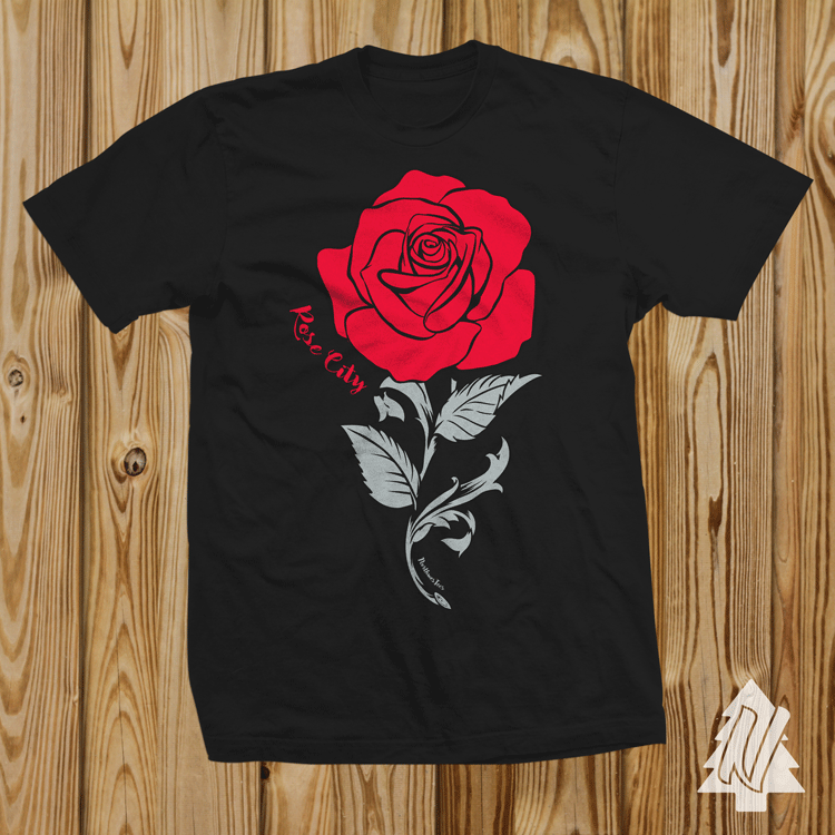 Rose City Basketball Tee