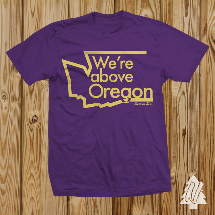Above Oregon Tee
