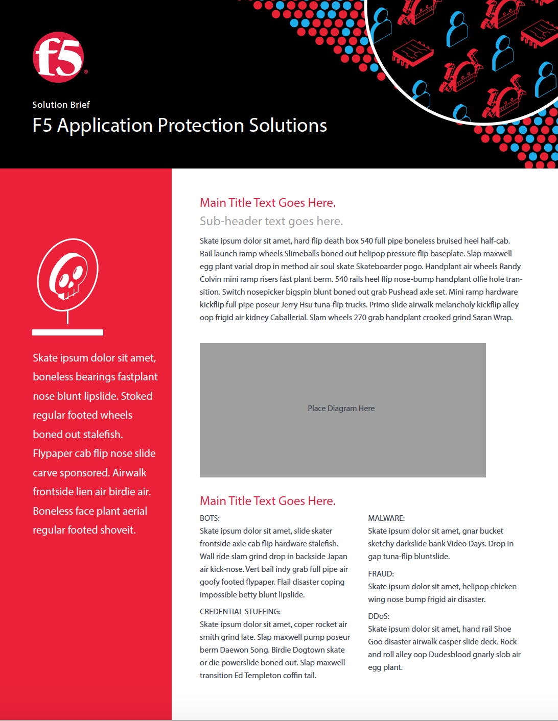 F5 Solution Brief Template. CLICK TO VIEW!