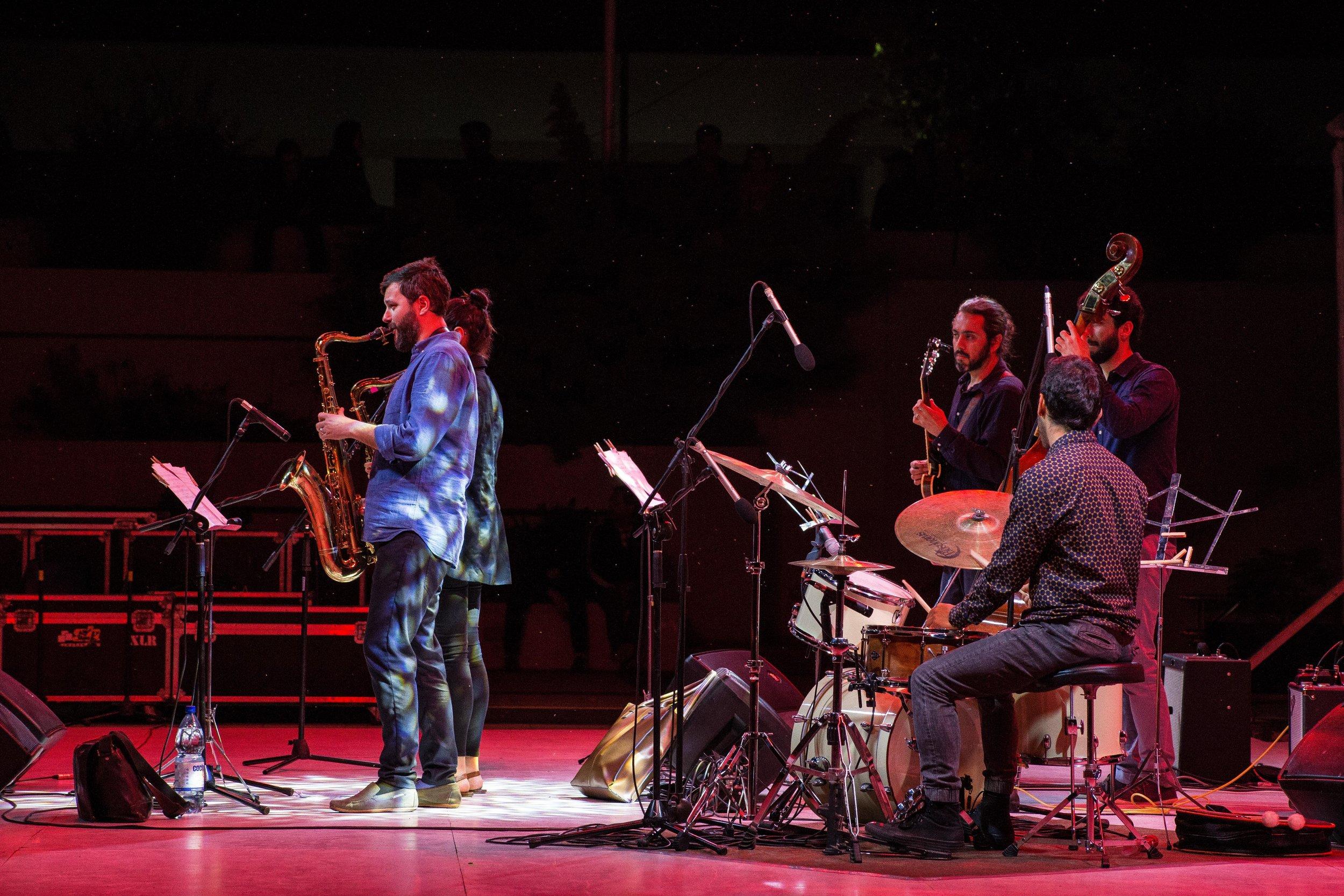 Melissa Aldana Quinteto - Concepción ©Mariana Soledad (2017)