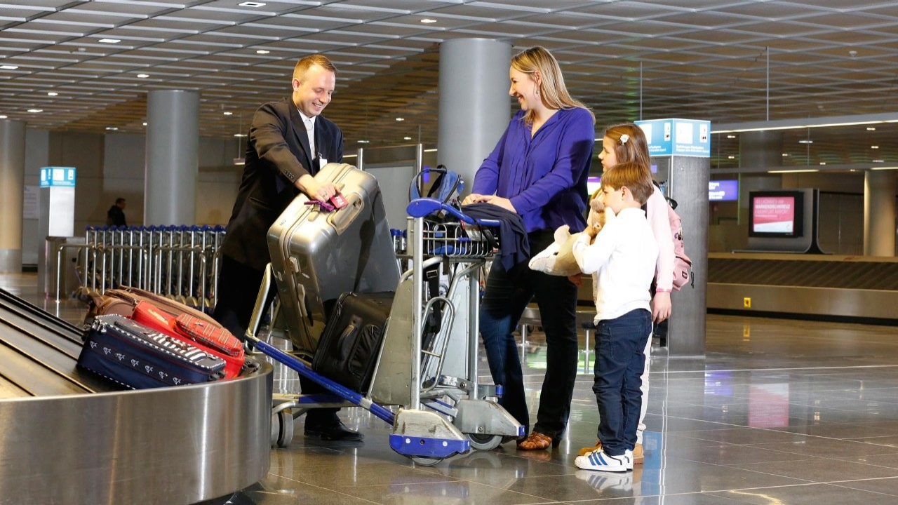 Luggage Collection Assistance