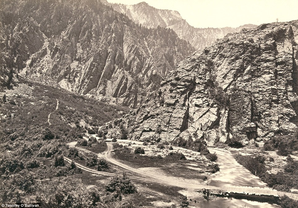 1869 Timothy O'Sullivan's Photo of Storm Mountain.jpg