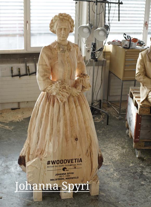 Die Enthüllung der nächsten Skulpturen folgt am 8. Februar