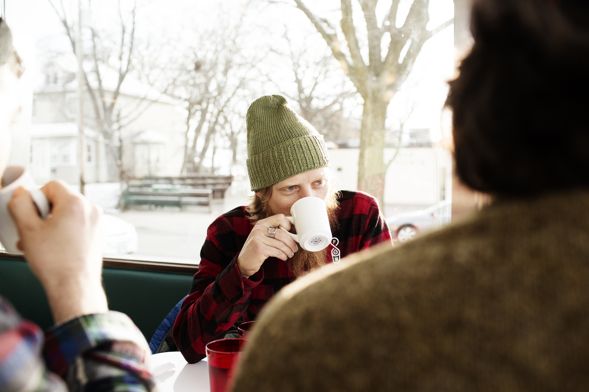 Customers in the winter | Hi-Lo Diner | The Restaurant Project