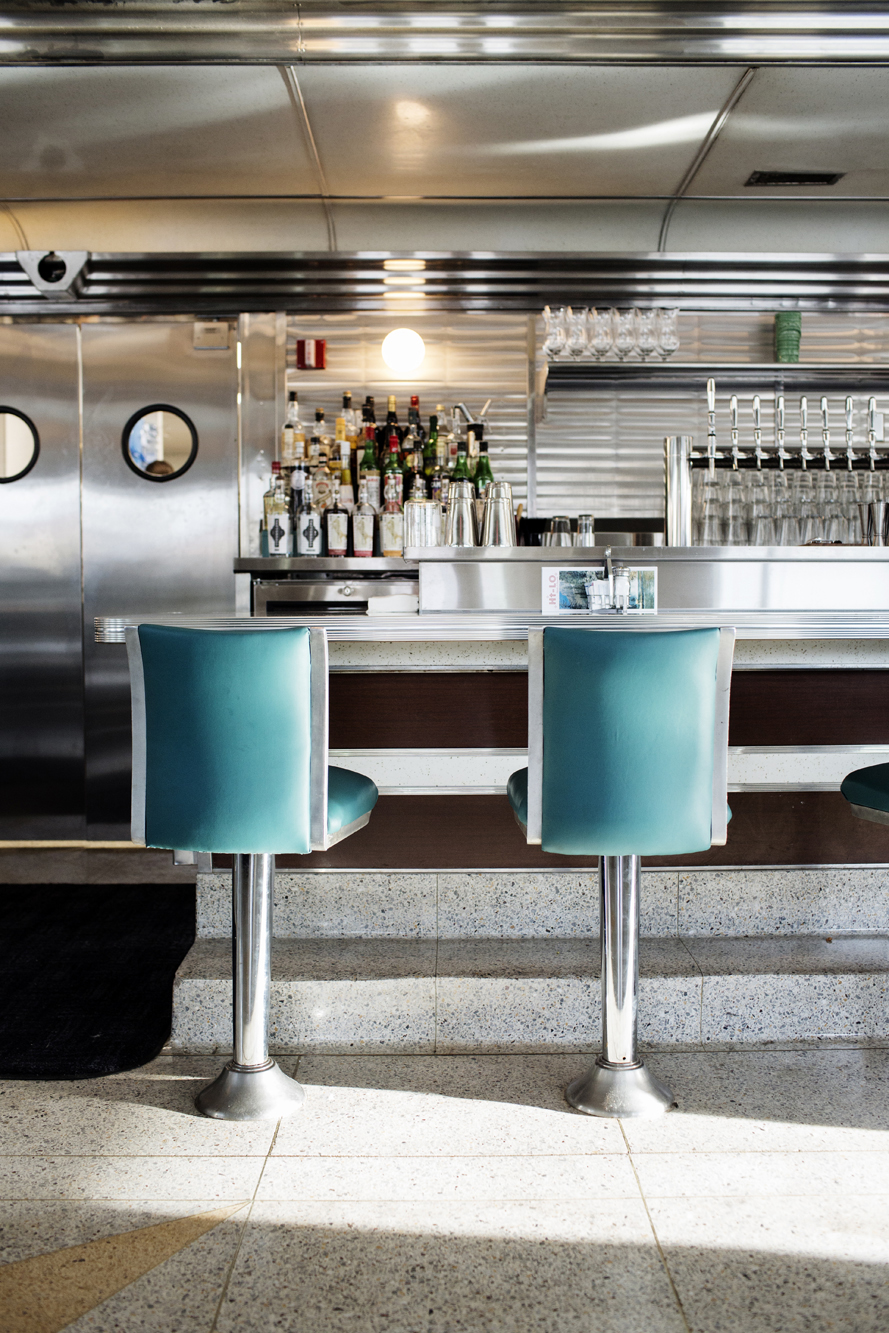 The counter at Hi-Lo Diner | The Restaurant Project