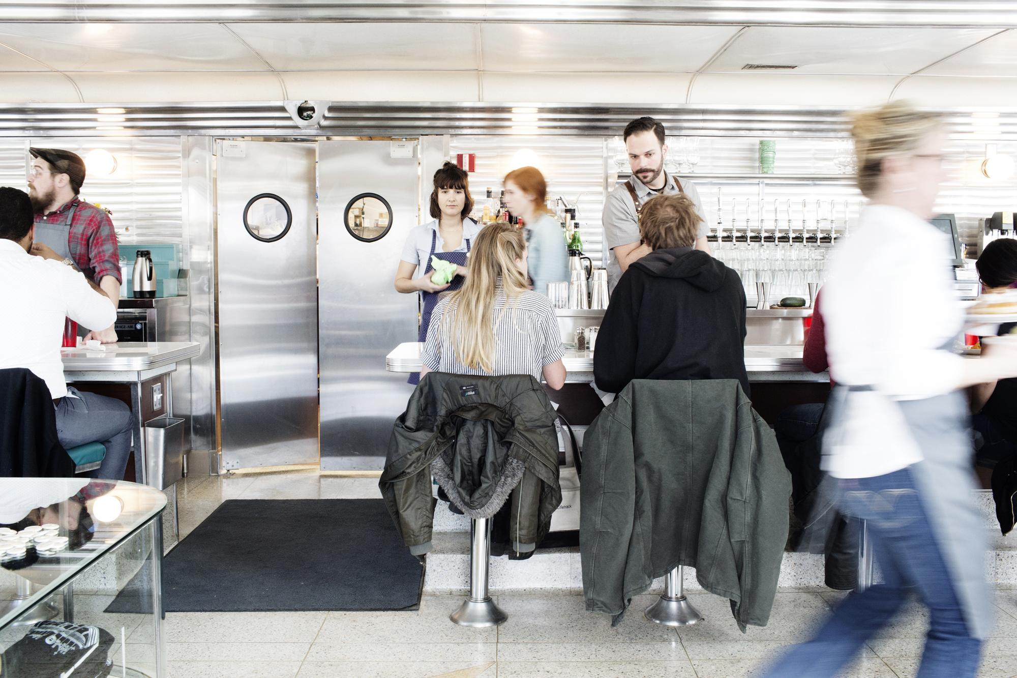 Inside Hi-Lo Diner | The Restaurant Project