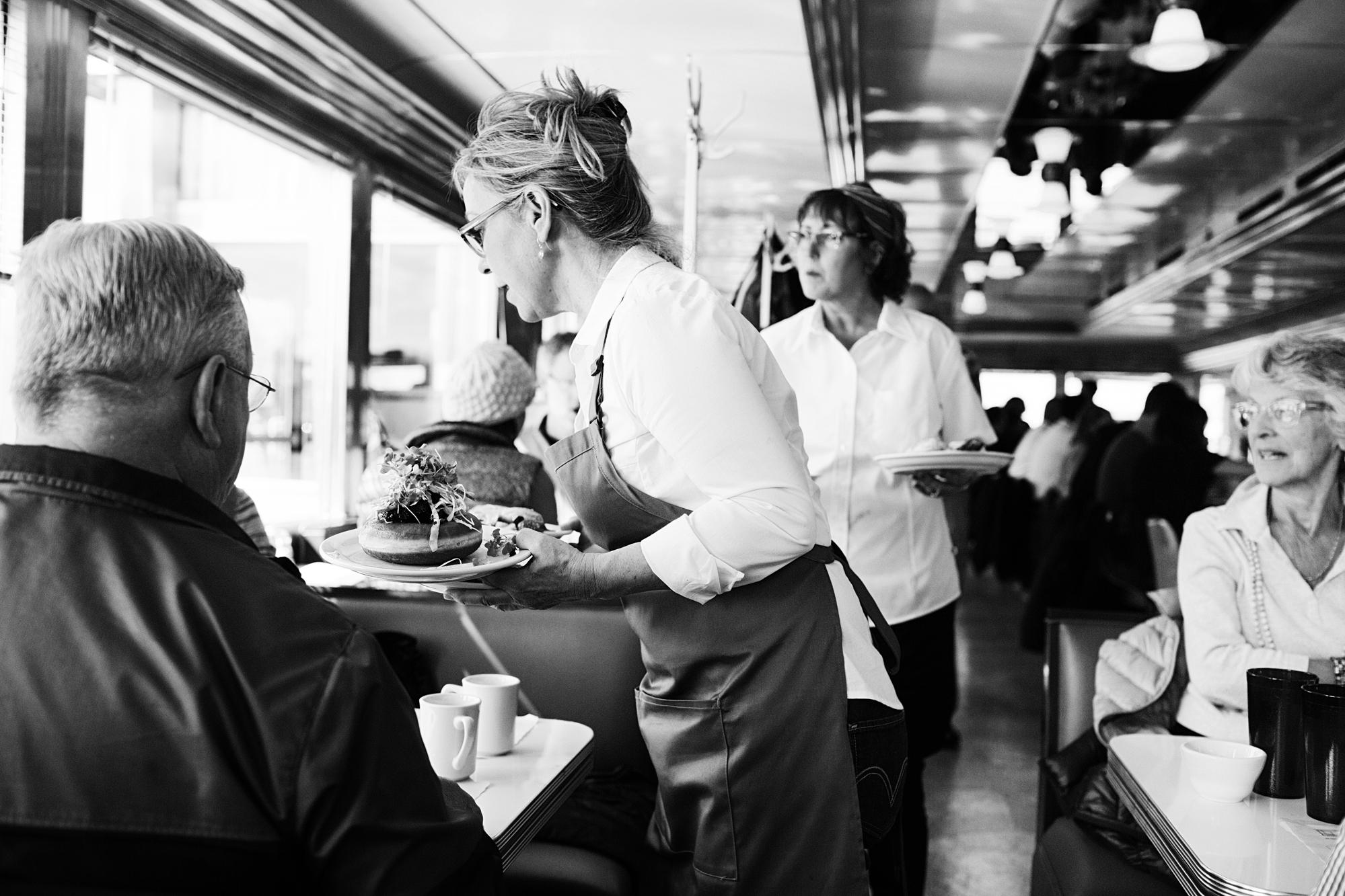 Interior shot of Hi-Lo Diner | The Restaurant Project