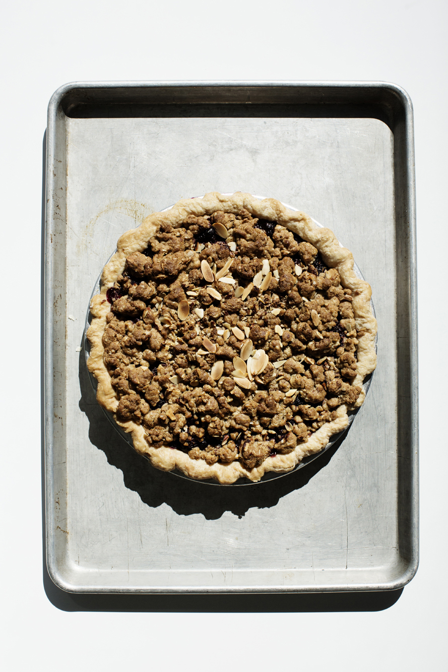 Crumble Pie on a sheet pan | Hi-Lo Diner | The Restaurant Project