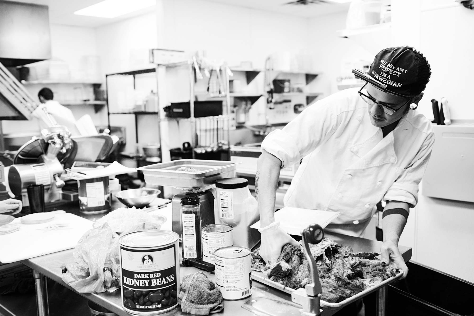 Chef in the kitchen | Hi-Lo Diner | The Restaurant Project