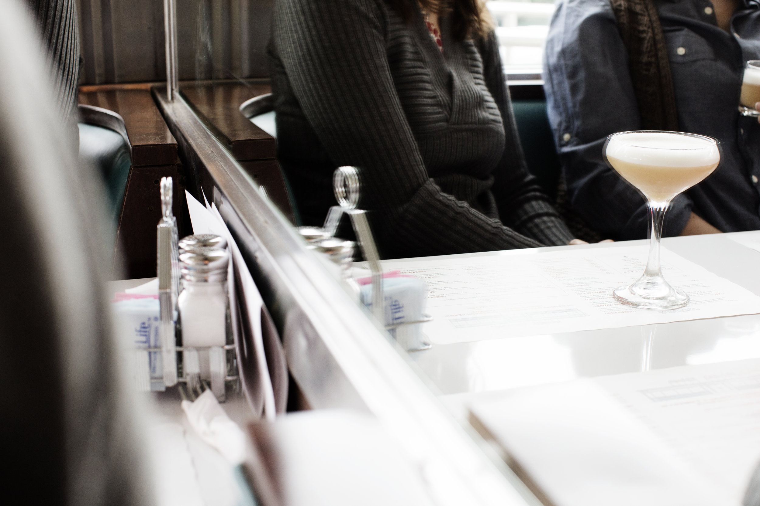 Diners at the counter | Hi-Lo Diner | The Restaurant Project