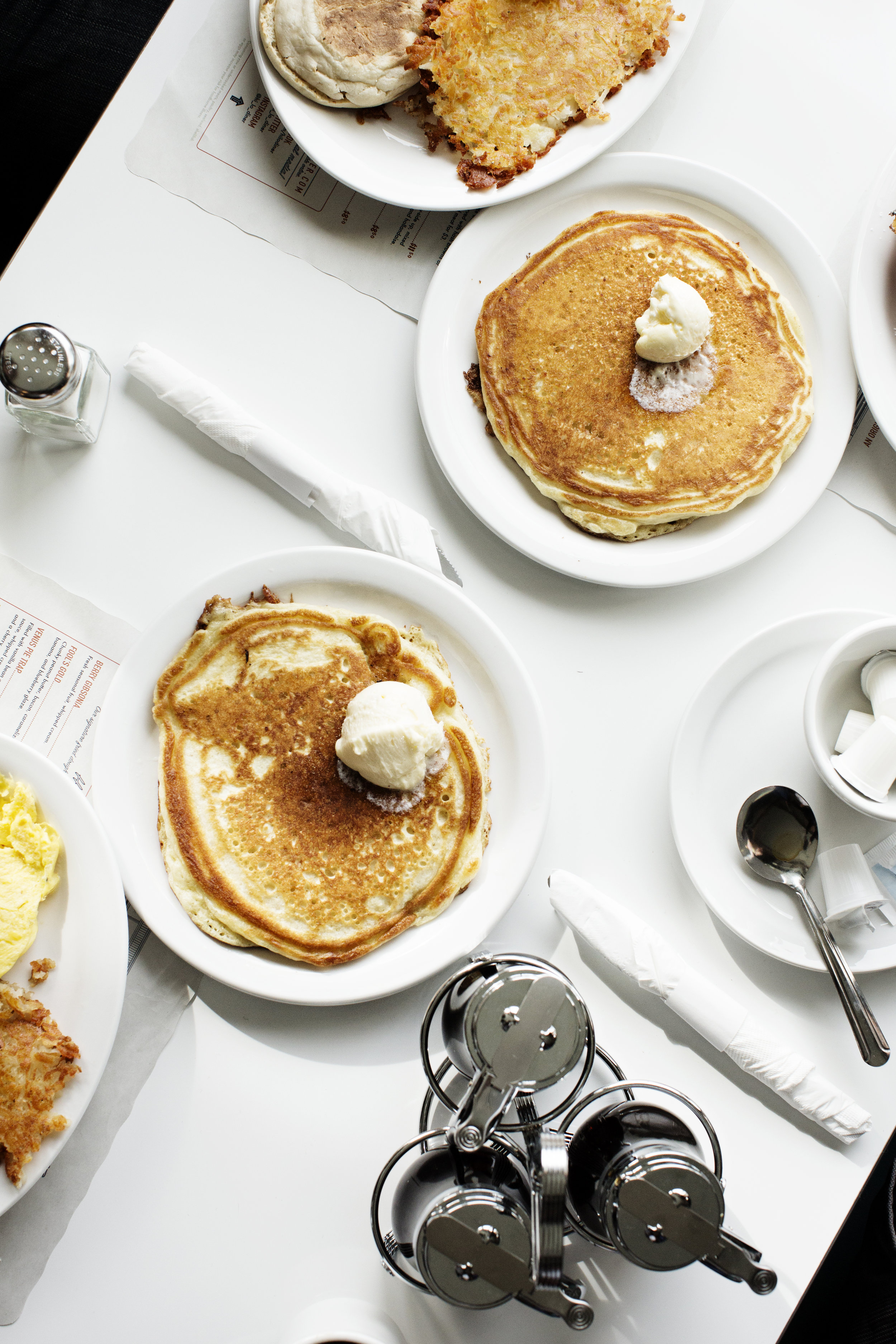 A table full of pancakes | Hi-Lo Diner | The Restaurant Project