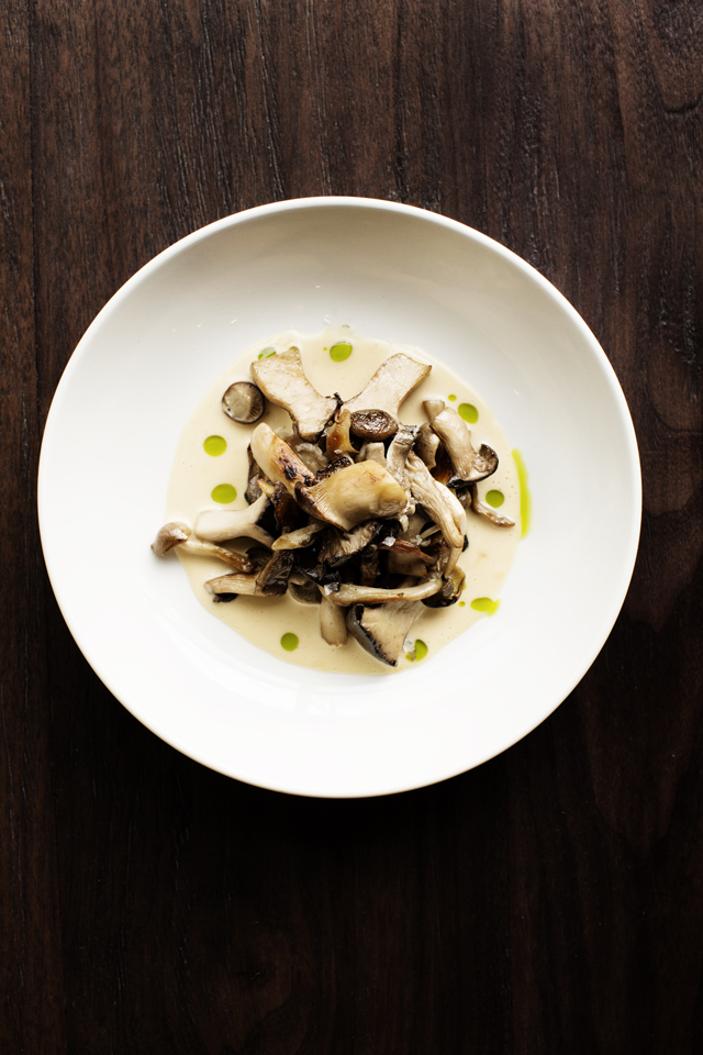 Mushroom dish | Young Joni | The Restaurant Project