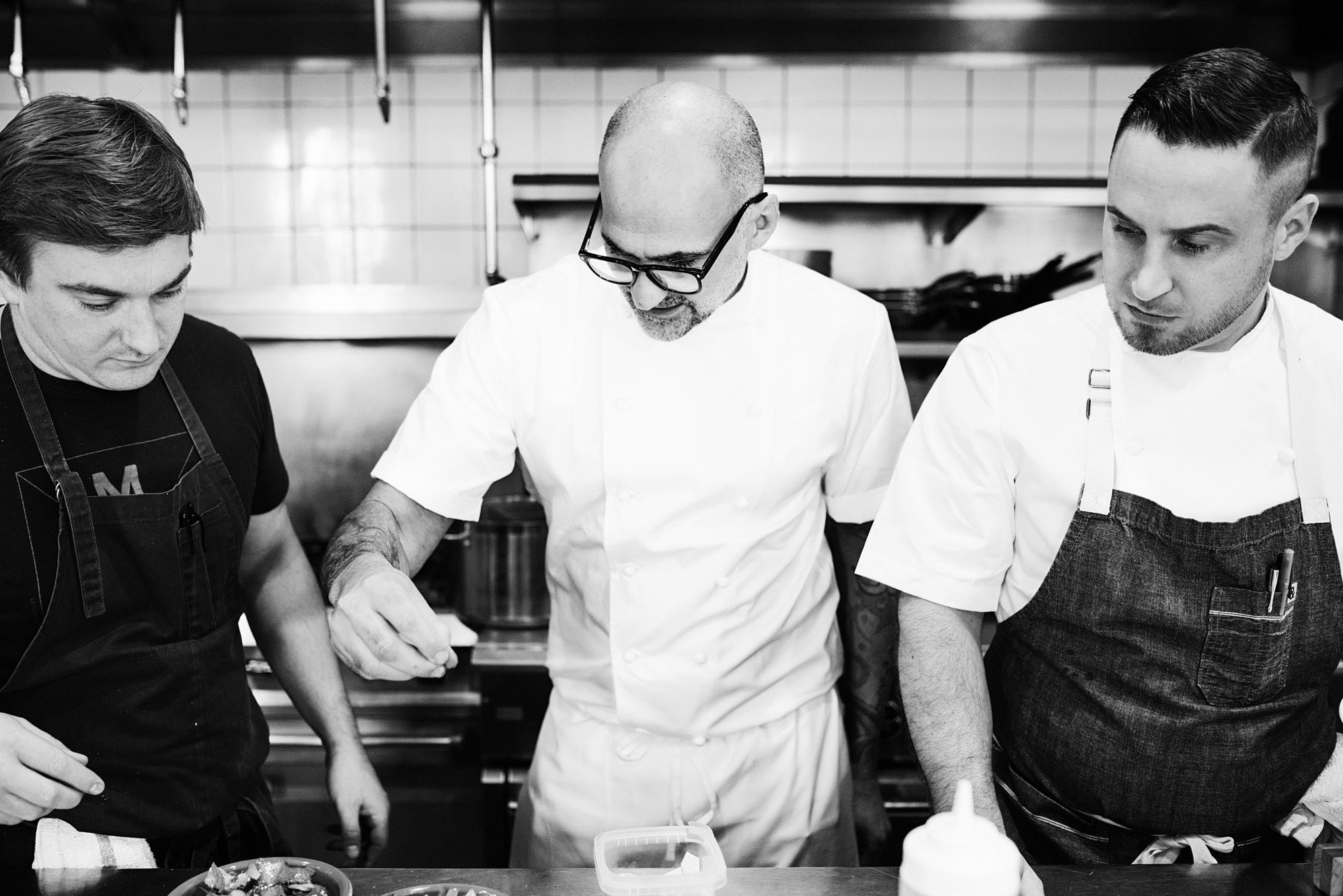 Chefs at Martina with Daniel del Prado | Martina | The Restaurant Project