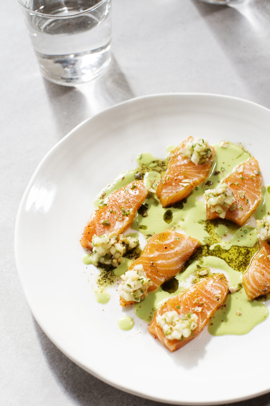 Fish entree | Martina | The Restaurant Project
