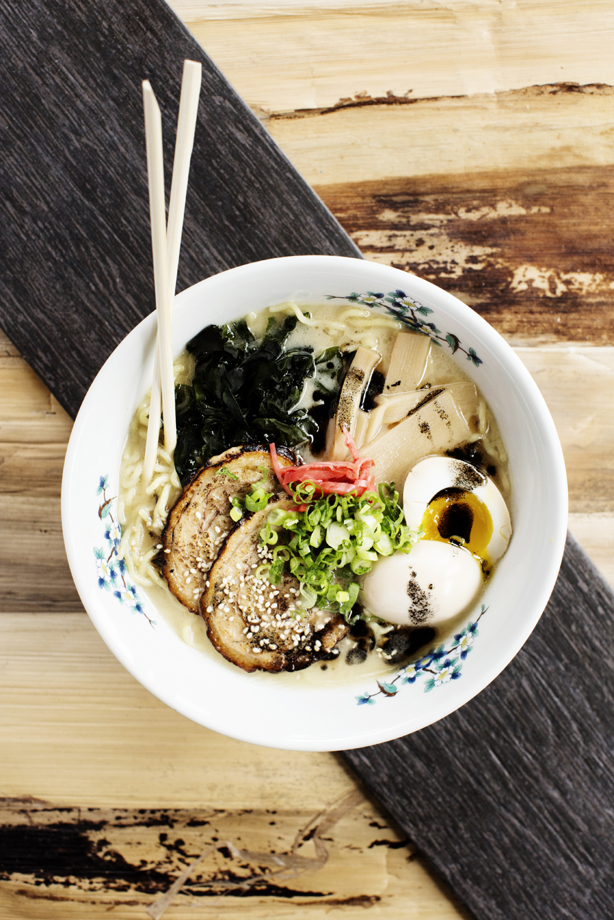 A bowl of tonkotsu ramen | Zen Box Izakaya | The Restaurant Project
