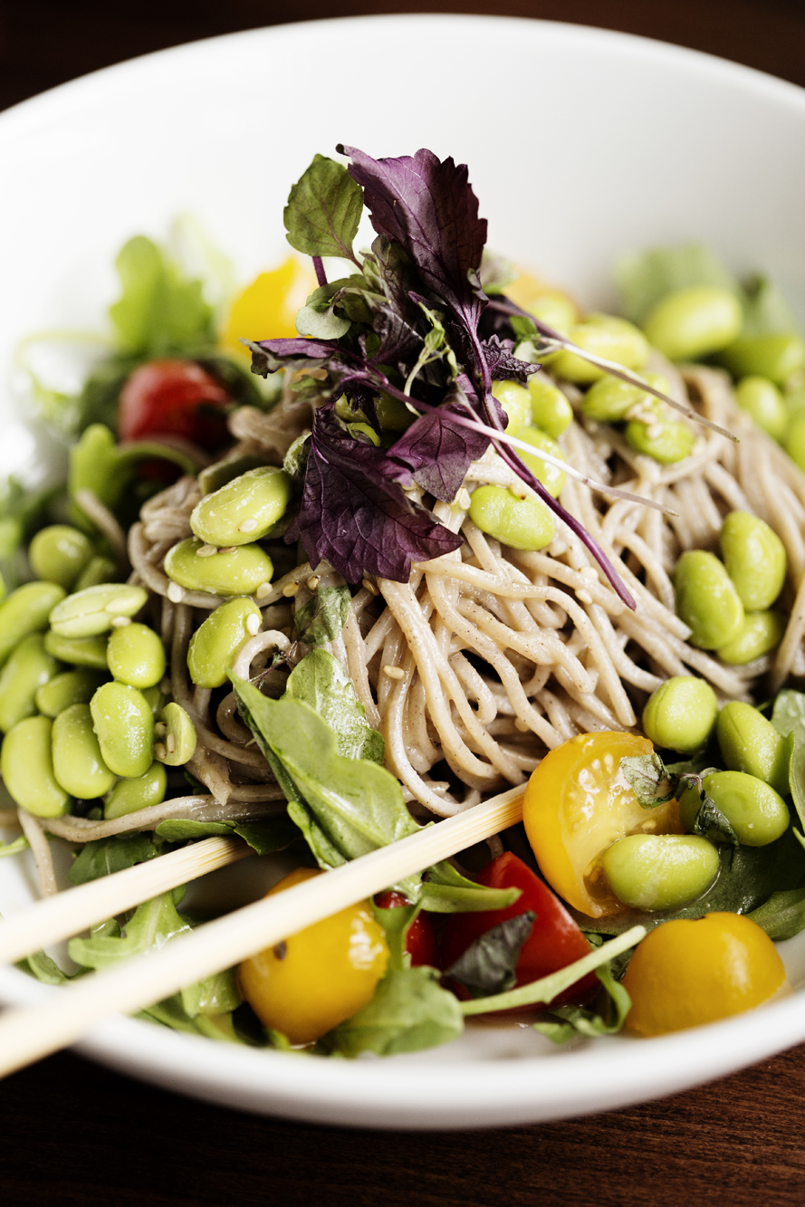 Hiyashi Soba Salad | Zen Box Izakaya | The Restaurant Project