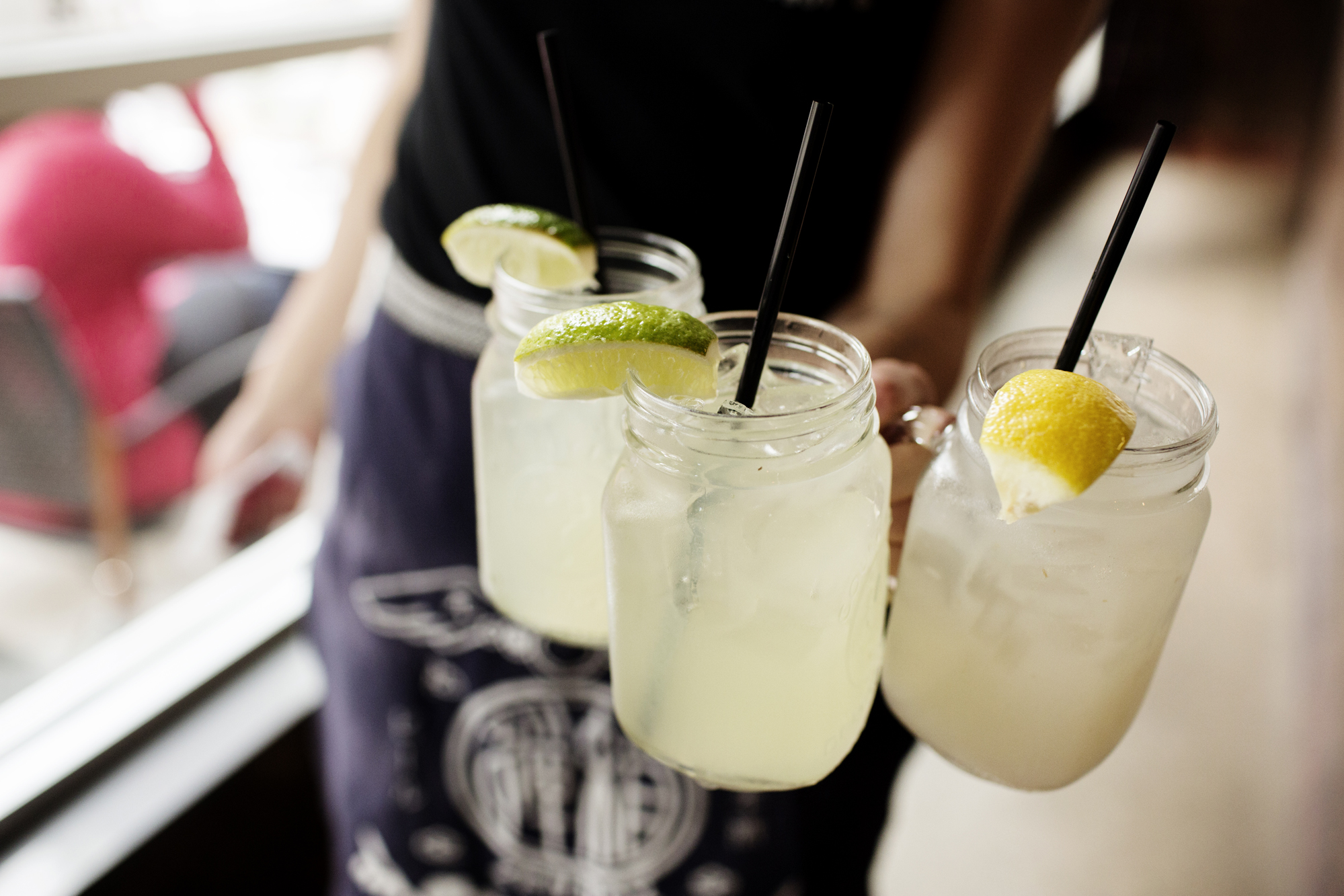 Mason jars of lemonade | Zen Box Izakaya | The Restaurant Project