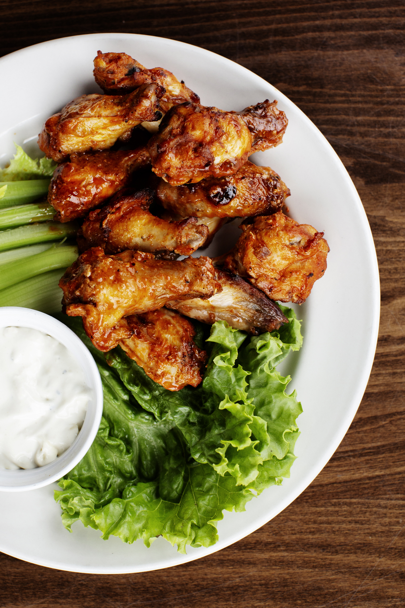 Chicken Wings | Pizza Lucé | The Restaurant Project