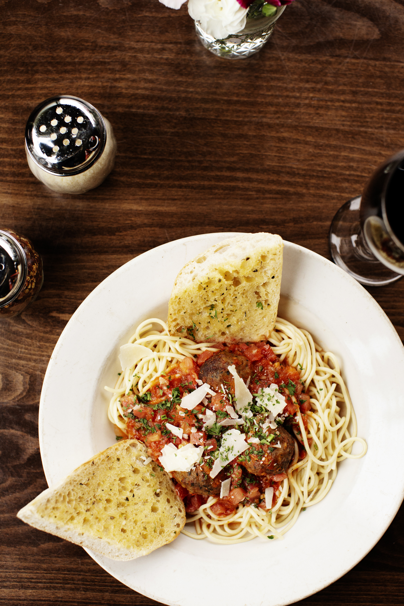 Traditional Spaghetti | Pizza Lucé | The Restaurant Project