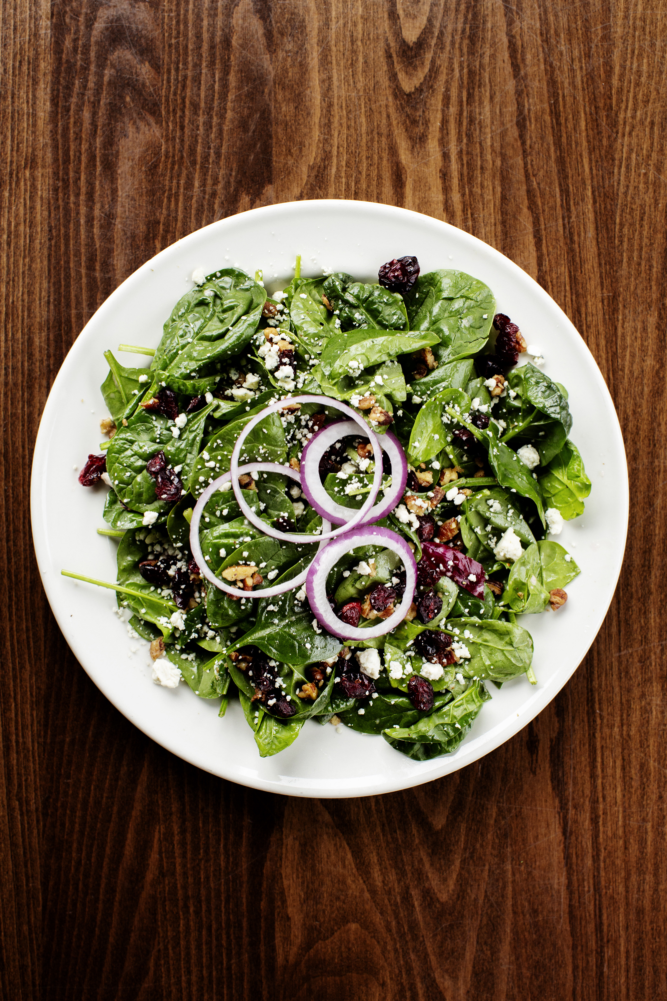 Spinach Salad | Pizza Lucé | The Restaurant Project