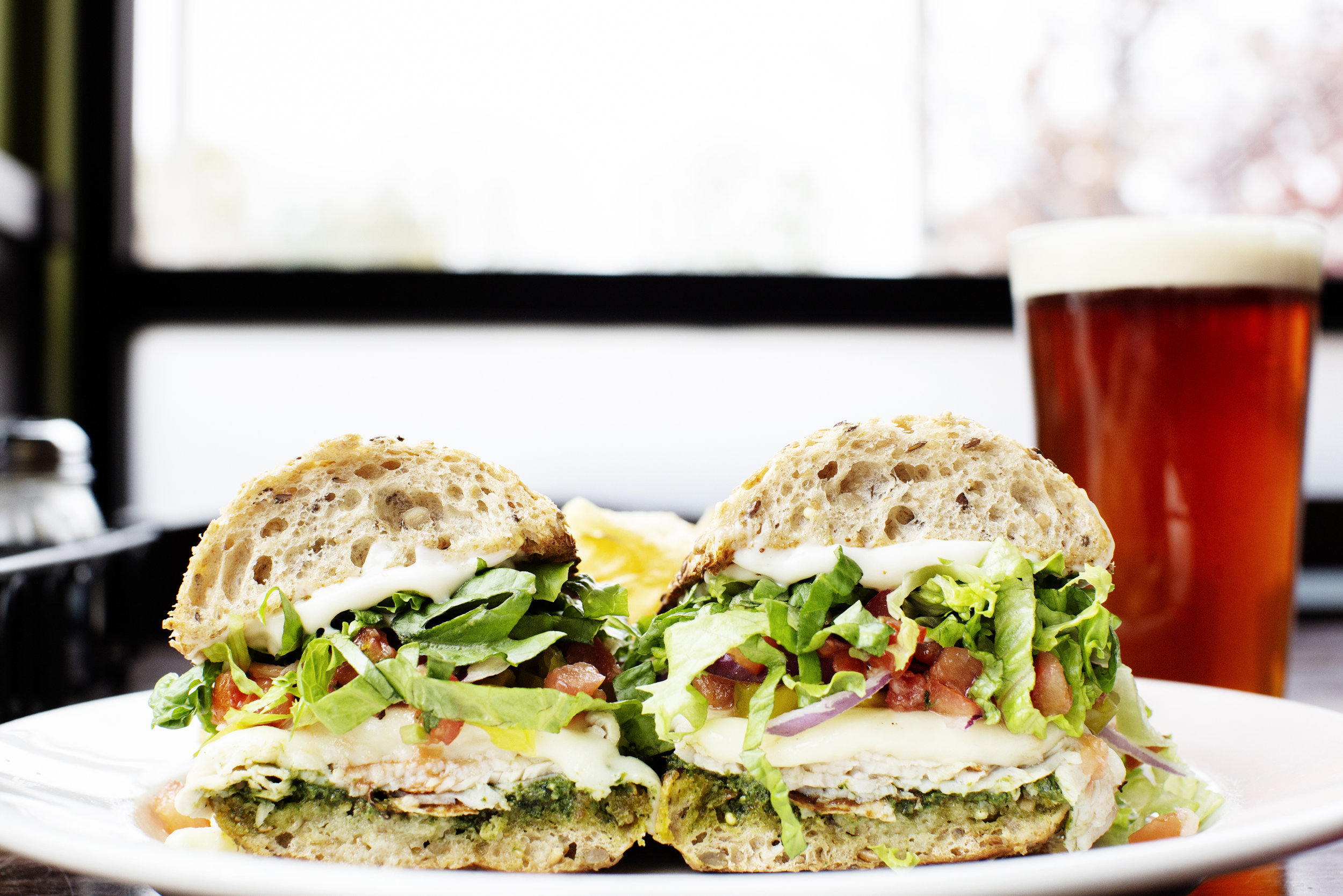 Pesto Turkey Hoagie | Pizza Lucé | The Restaurant Project