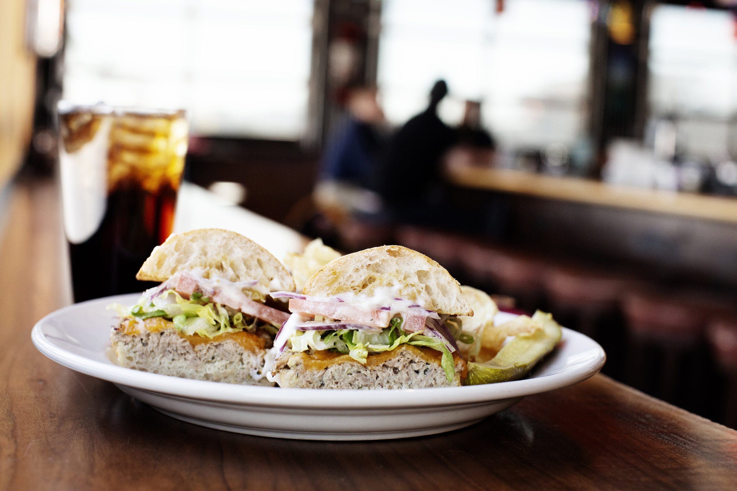 Deli Style Hoagie and a Soda | Pizza Lucé | The Restaurant Project