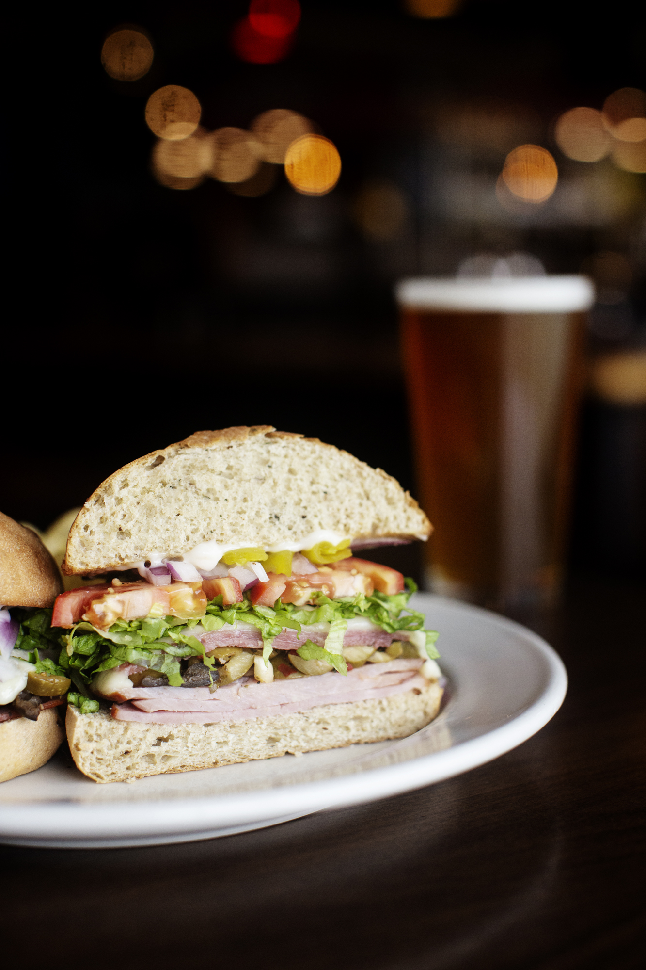 Deli Style Hoagie | Pizza Lucé | The Restaurant Project