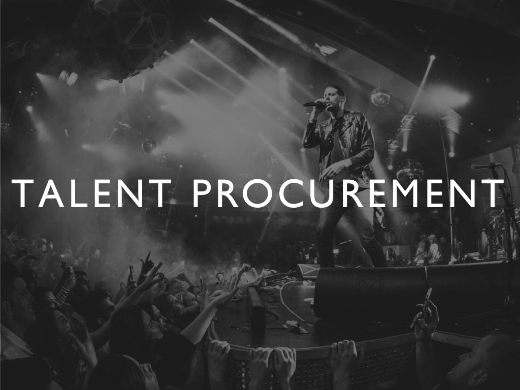 WAV/E: Talent Procurement