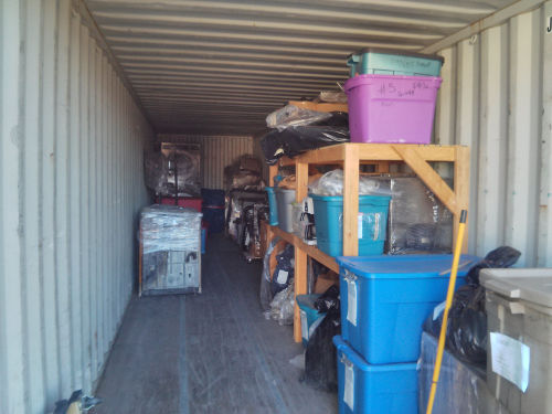 Evidence Storage Container