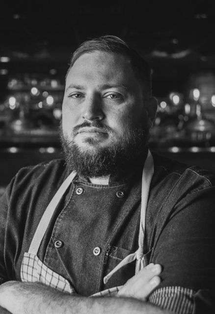 Chef Clayton Rollinson, Lucky Rooster Kitchen + Bar