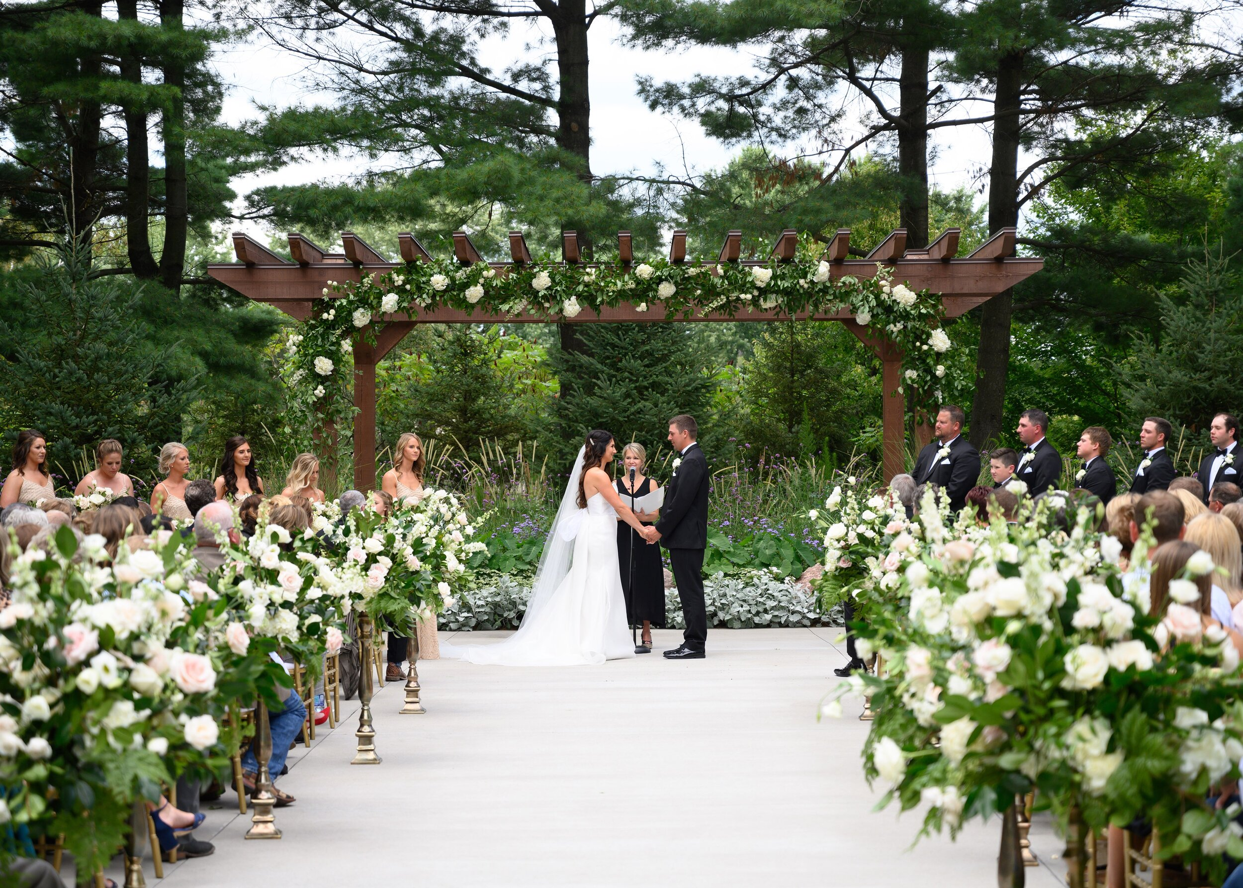 Sentry World Tented Wedding