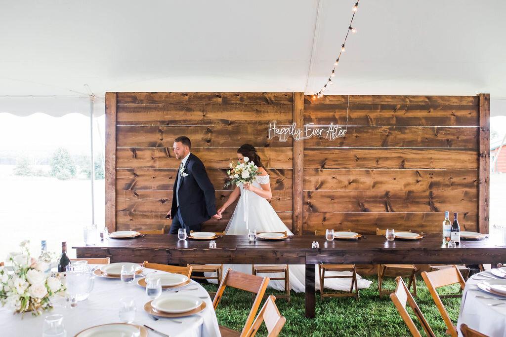 Allbright Backyard Wedding