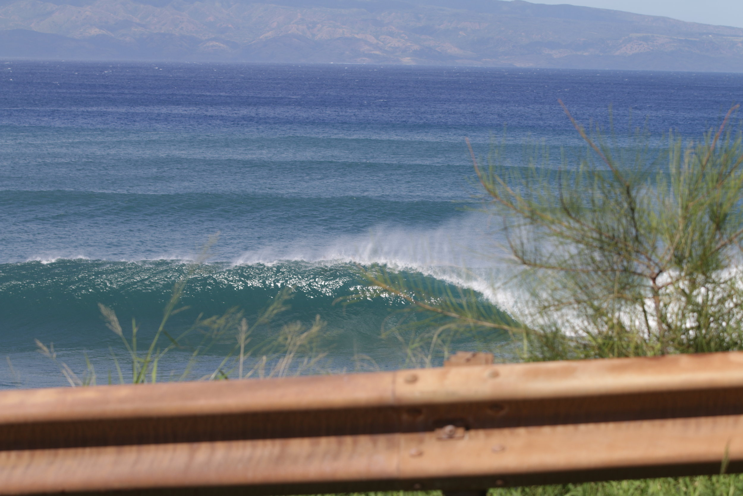 There was a solid pulse of NNW swell the last two days we were there. Not a bad way to end a surf trip.