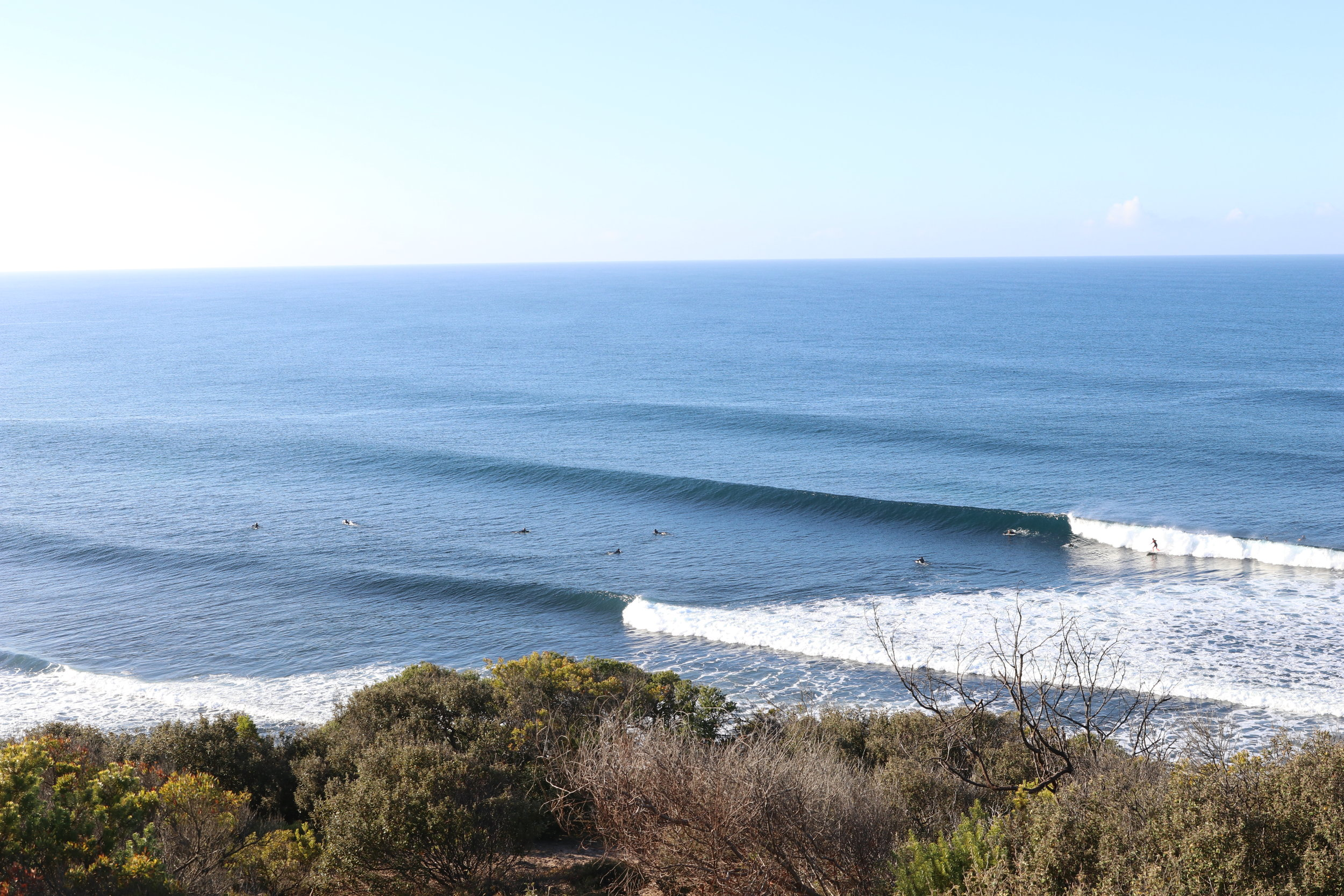 Bells and Winki Pop don't need much explanation. A fast, lined up point break perfect for the fish.