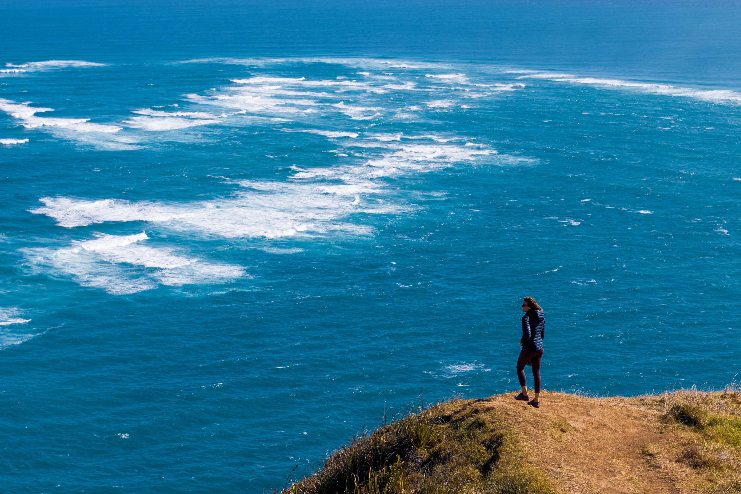 This is where the tasman sea and pacific ocean meet. No wonder the place pumps.