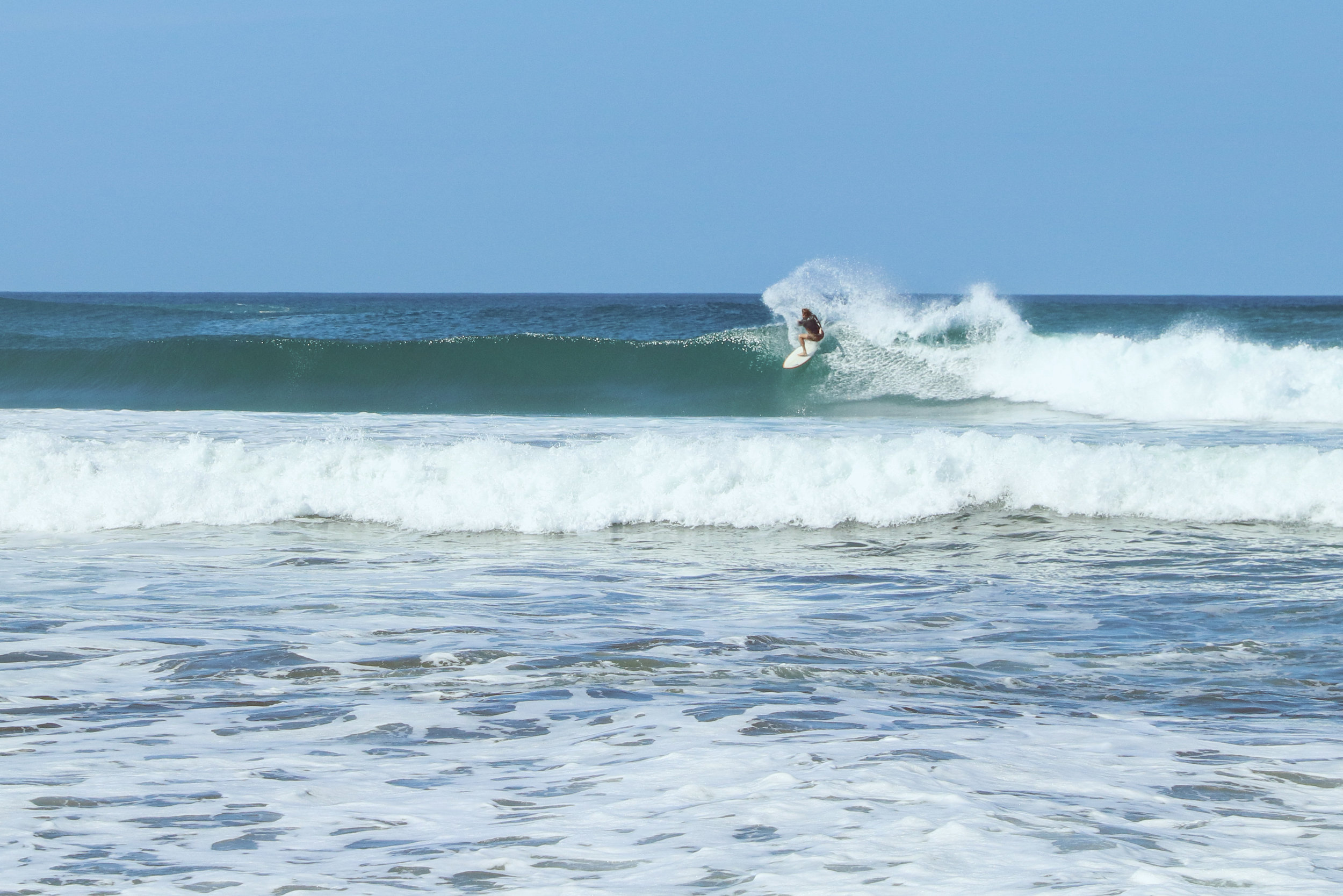 The super soaker is always a good call in solid beach break.