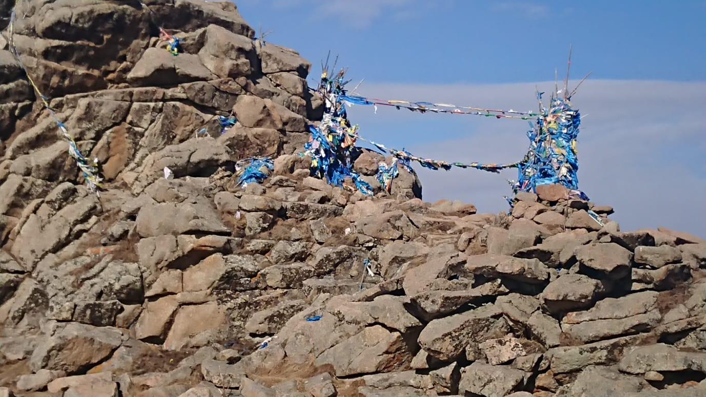 Shrine mongolia