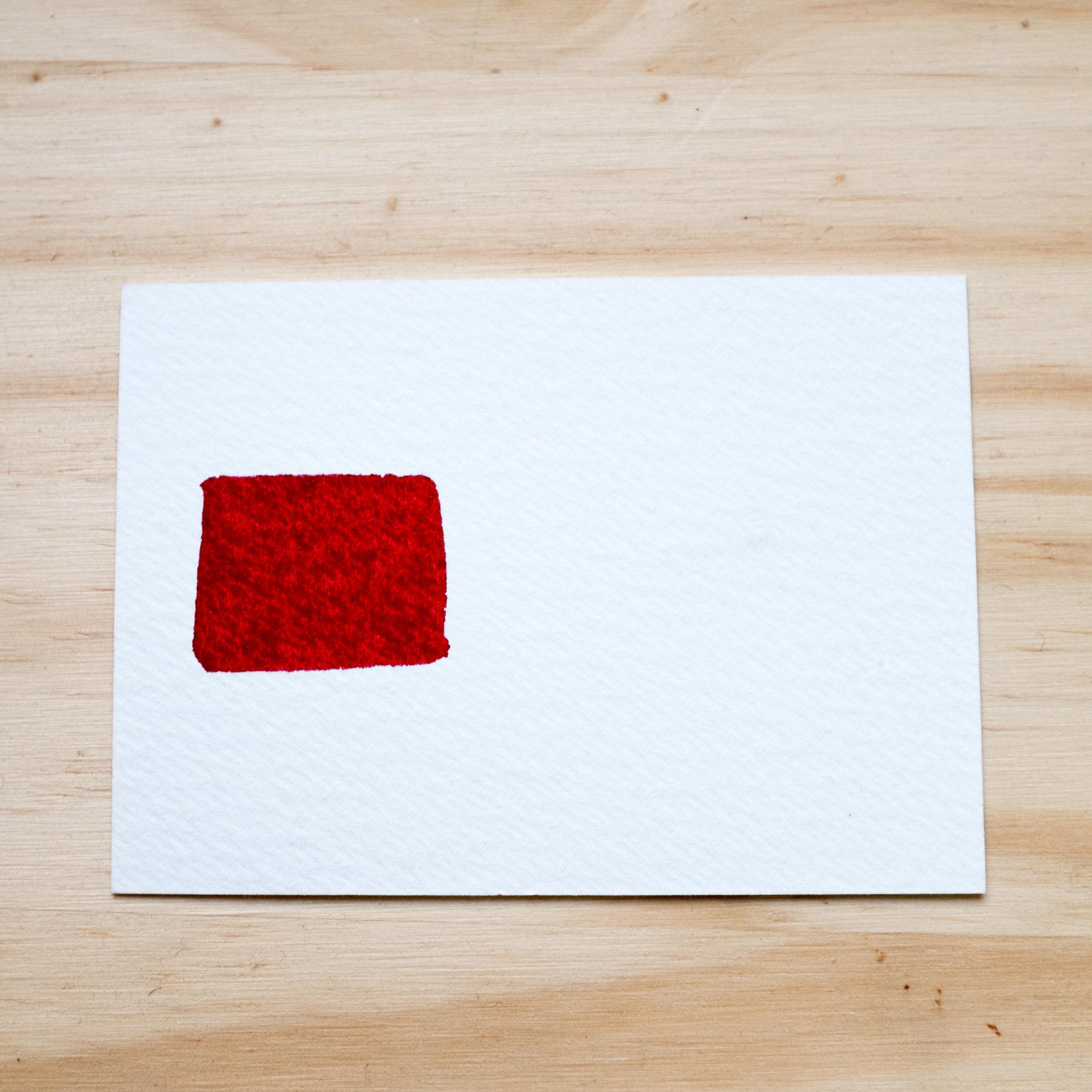 Wet perylene maroon, regular pigment load