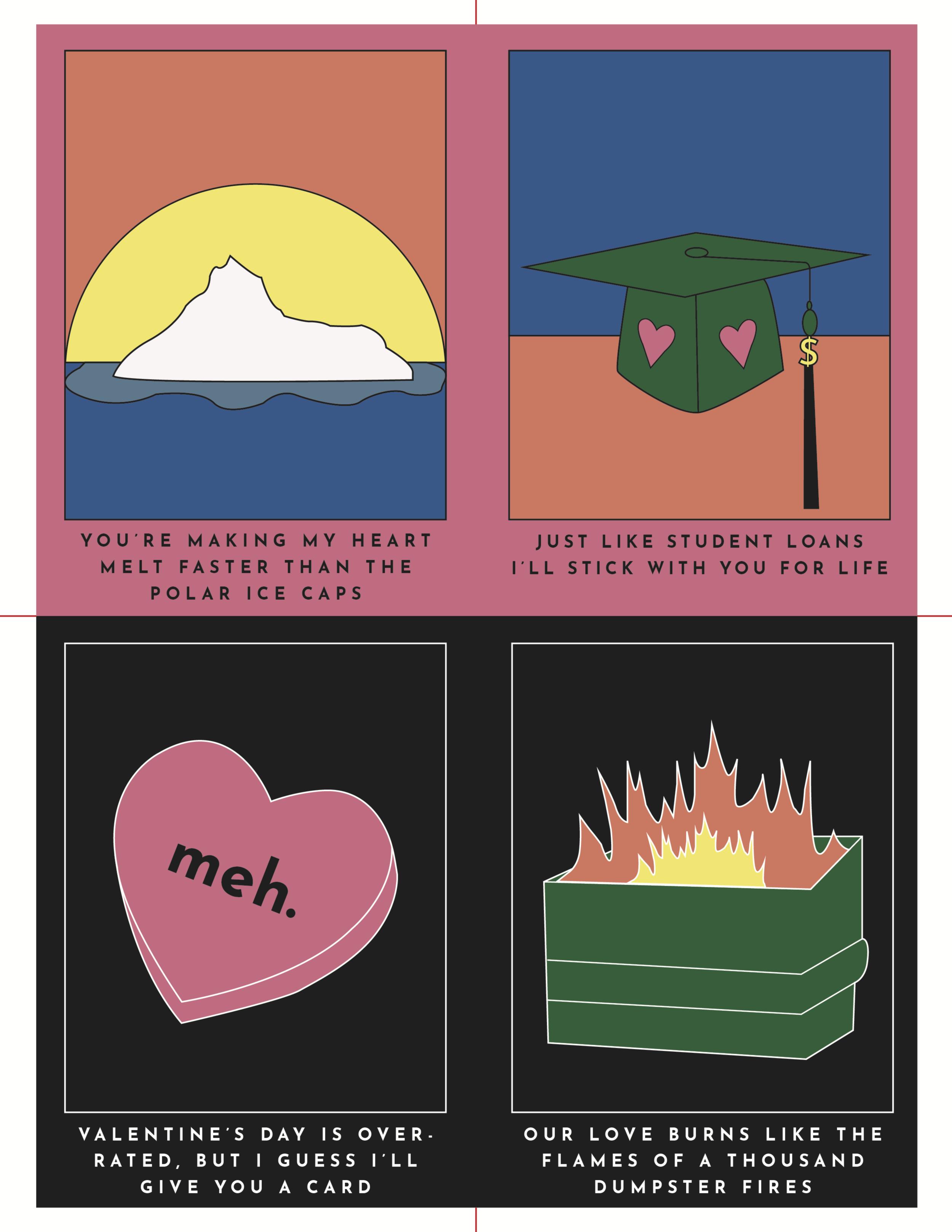 Valentine's Card Deck A