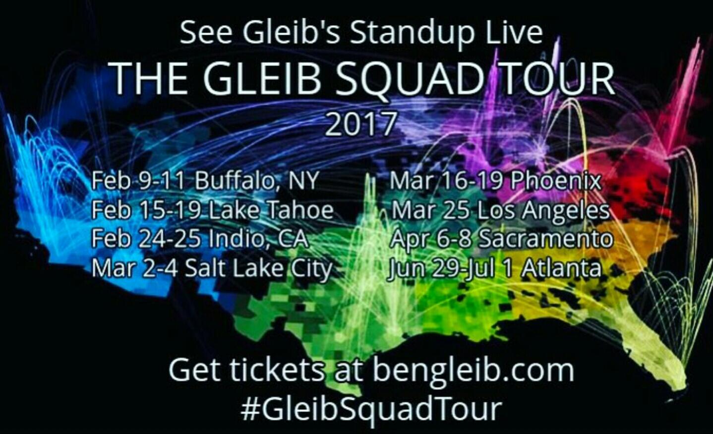 The Gleib Squad Tour 2017