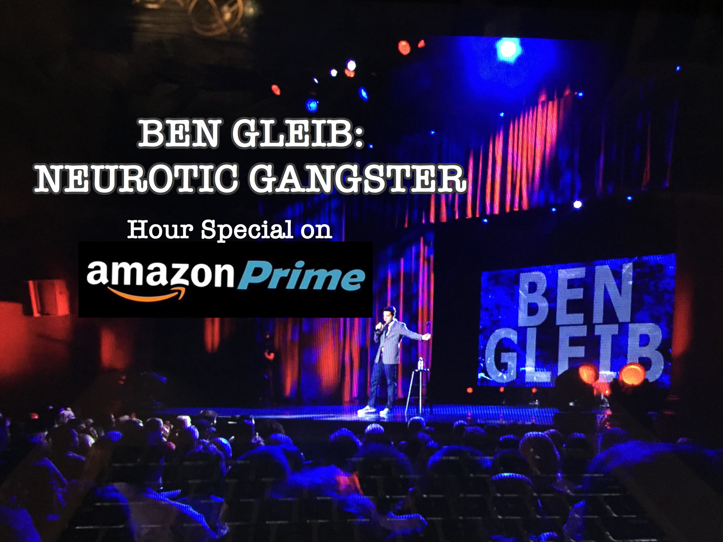 Watch Gleib's hour standup special  click here!