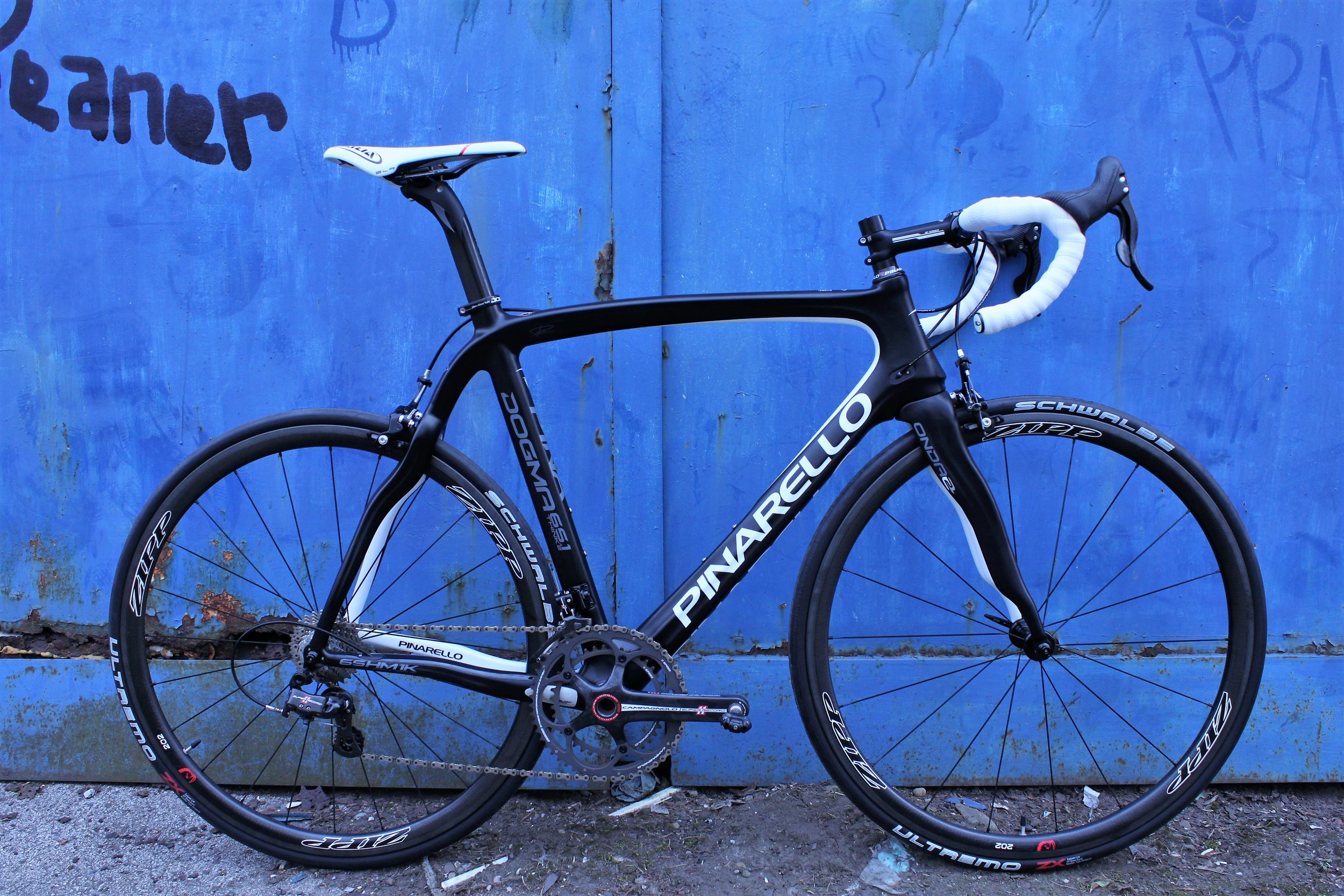 Pinarell Dogma with Campag Super Record 11