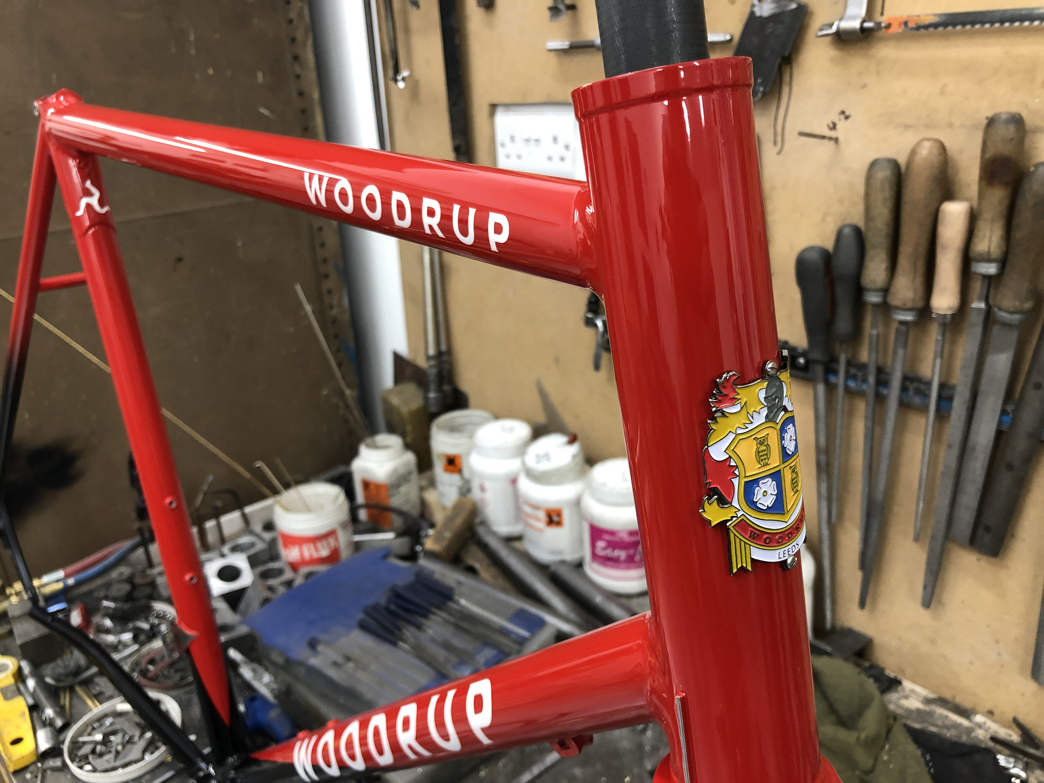 Dave's Woodrup disc racer